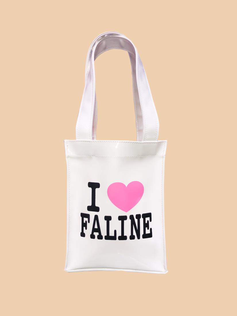 I LOVE FALINE TOTE BAG