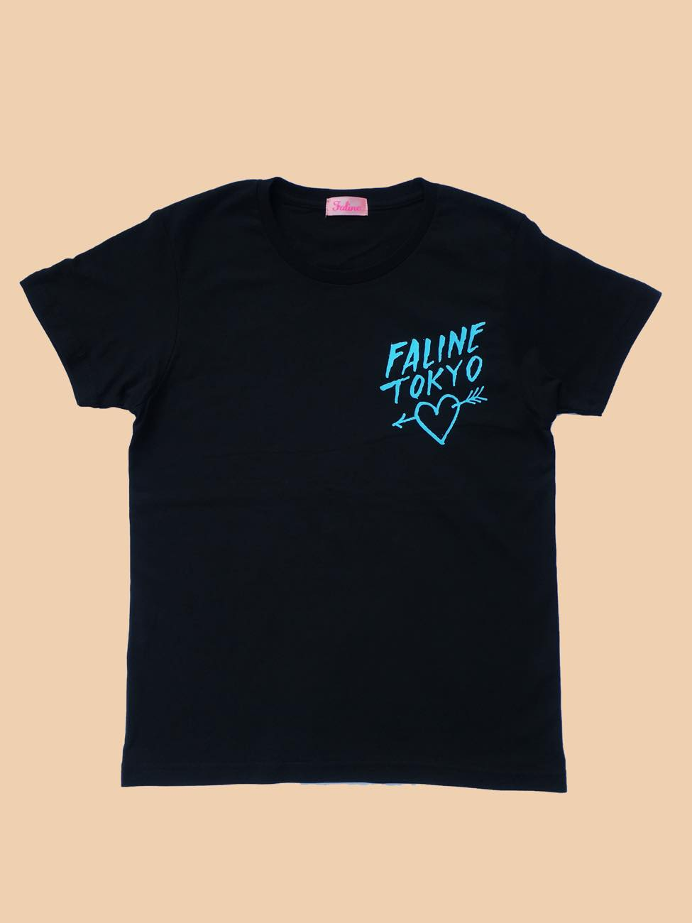 Faline x Andre Tee (Black /Blue)